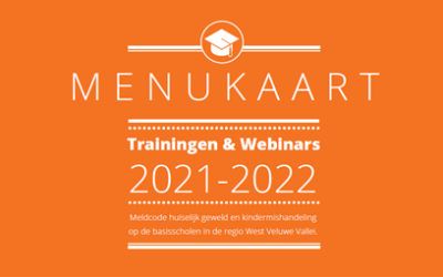 Projecten Handle With Care & Meldcode in het primair onderwijs – menukaart kosteloze trainingen!